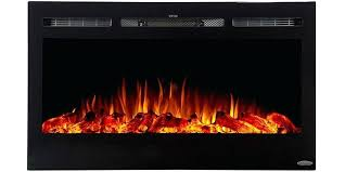 front vent electric fireplace flame color