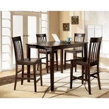 ashley dining room table set. hyland rectangular counter height leg table dining room set, ashley, collection ashley set