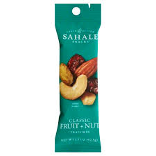 Sahale Snacks Glazed <b>Mixes</b>, <b>Classic Fruit Nut</b>, 1.5 oz, Case of 9 ...