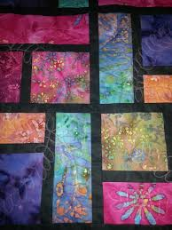 Stained Glass Quilt Pattern Inspiration Great Idea For Quilting Stained Glass Quilt Quilts Quilts