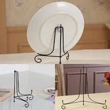 Bowl Display Stands Adorable Iron Easel Kitchen Bowl Plate Art Picture Frame Holder Book Display