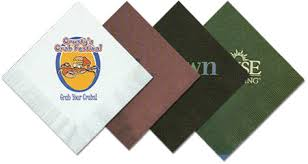 custom printed paper napkins. customimprinted luncheon napkins with any design you choose custom printed paper n