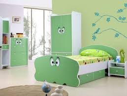 astonishing green white furniture style for trendy kids bedroom design with tree wall decal bedroom white furniture kids