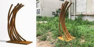 metal garden statues yard sculptures