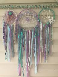 Bamboo Dream Catcher Mermaid Dream Catcher on Bamboo [E100M] 100100 63