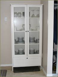 white wooden corner curio cabinet ikea with drawer and double doors for home furniture ideas