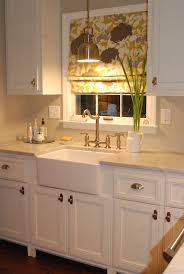 over kitchen sink lighting. Love The Light Colors With Fun Graphic Fabric Above Over Kitchen Sink Lighting Lowes O