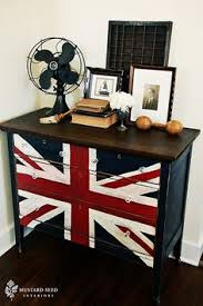union jack furniture. Beautiful Union Union Jack Dresser  Masculine Paint Job Like Combo Of Natural Wood On Top  With To Furniture E