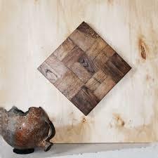 vintage reclaimed wood wall art wood