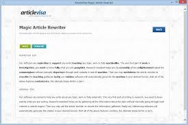 article rewriter software essay rewriting parapharser articlevisa product screenshot