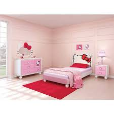 Kids White Bedroom Furniture Twin Bed Frame Fo 7473 | ecobell.info
