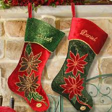 Velvet Christmas Stockings | Amazing Christmas Ideas