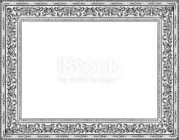 Black ornate frame 30x40 Inch Elegant Ornate Frame In Black And White Stock Vector Art More Images Of Black And Istock Elegant Ornate Frame In Black And White Stock Vector Art More