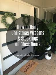 how to hang wreaths and
