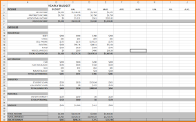 Download Annual Business Budget Template Excel Papillon Northwan