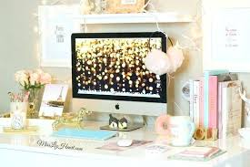 trendy office accessories. Feminine Desk Accessories Trendy Office White With Gold Computer Desktop Background . A