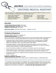 the awesome resume template medical assistant  resume format web