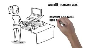 laptop standing desk workez standing desk ergonomic laptop desktop sit stand conversion you