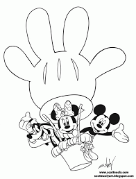 Baby Mickey Mouse Clubhouse Coloring Pages Coloring Pages For