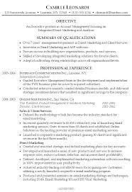 Sample Overview For Resume Sarahepps Com