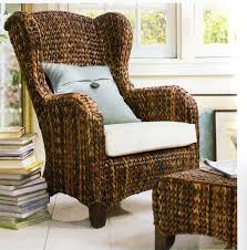 Seagrass Living Room Furniture Furniture Living Room Chairs By Seagrass Chairs And Seagrass Ottoman