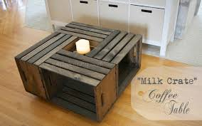 How To Make A Wood Crate Coffee Table Coffee Addicts