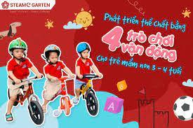 4 trò chơi vận động cho trẻ mầm non 3 - 4 tuổi