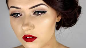 pin up inspired make tutorial you