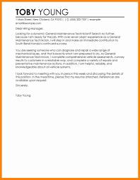 7 General Job Cover Letter Sample Resume Type