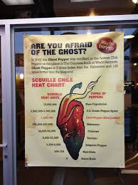 Mucho Burrito Gluten Free Chart Mucho Burritos Ghost Pepper Burrito Can You Take The Heat