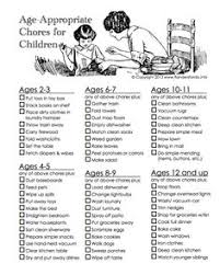 Chores For Children With Autism On Pinterest