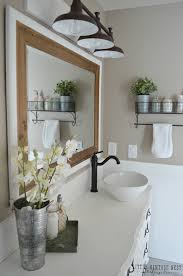 Farmhouse Bathroom Lighting Home Design Gallery
