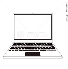パソコン ベクター素材 Pc インターネット関連パーツのイラスト素材