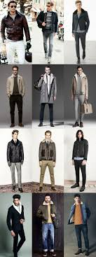 men s faux fur borg collar jacket lookbook