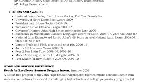 College Application Resume Example Classy High School Resume Examples For College Admission College Admission