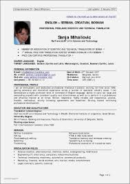 Seafarer Resume Sample Example Of Resume for Seaman Awesome Latest Resume format 60 24