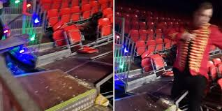 Family Arena Seating Chart Circus Screaming Families Flee Manchesters Winter Funland After