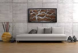 custom made reclaimed wood wall art made of old barnwood and rustic steel 48