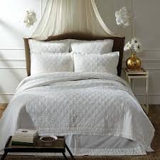 vhc brands adelia white twin quilt 86x68 solids 29161 alt001 1200px png
