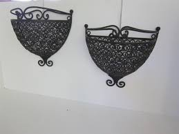 wrought iron wall mounted plant holder of 14 ingenious ideas