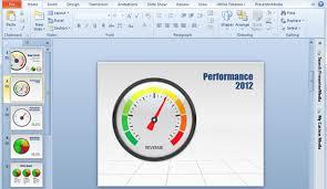 Excel Gauge Chart Template Download Gauges For Powerpoint Presentations