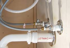 supply lines shut off valves install kitchen faucet side sprayer