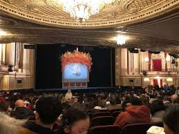 Citizens Bank Opera House Section Orchestra Lc Row U Seat 27