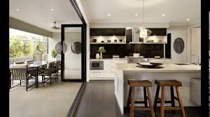 kitchen designs with bifold doors