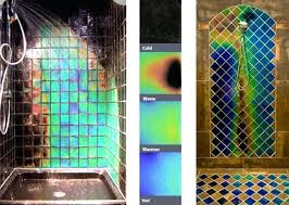 heat sensitive tiles heat sensitive shower tiles change colors as you shower heat sensitive tiles india