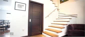 interior wood doors double prehung solid door with glass insert