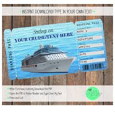 Cruise Gift Certificate Template Cruise Ticket Template Magdalene Project Org