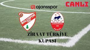 Boluspor Kahramanmaraşspor maçı canlı izle   A Spor şifresiz bedava yayın  seyret