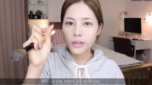 makeup tutorial korean style natural look 2016 eng 퍼플 포인트 메이크업 purple point makeup makeup