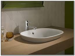 raised bathroom sink befitz decoration in semi recessed vessel sink semi recessed vessel sink come to